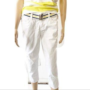 DKNY Jeans White Capri Jeans Size 2